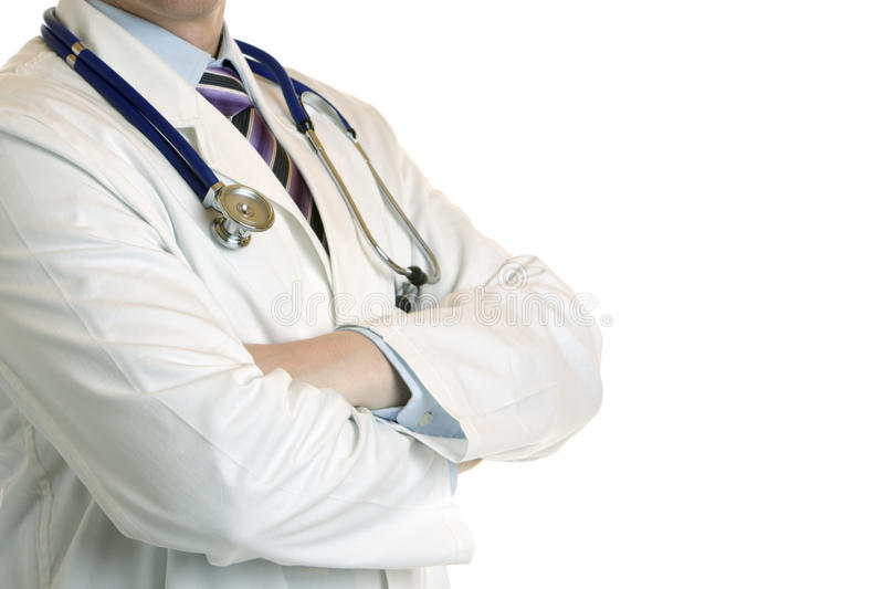 Profil Of Medical Doctor Royalty Free Stock Photos