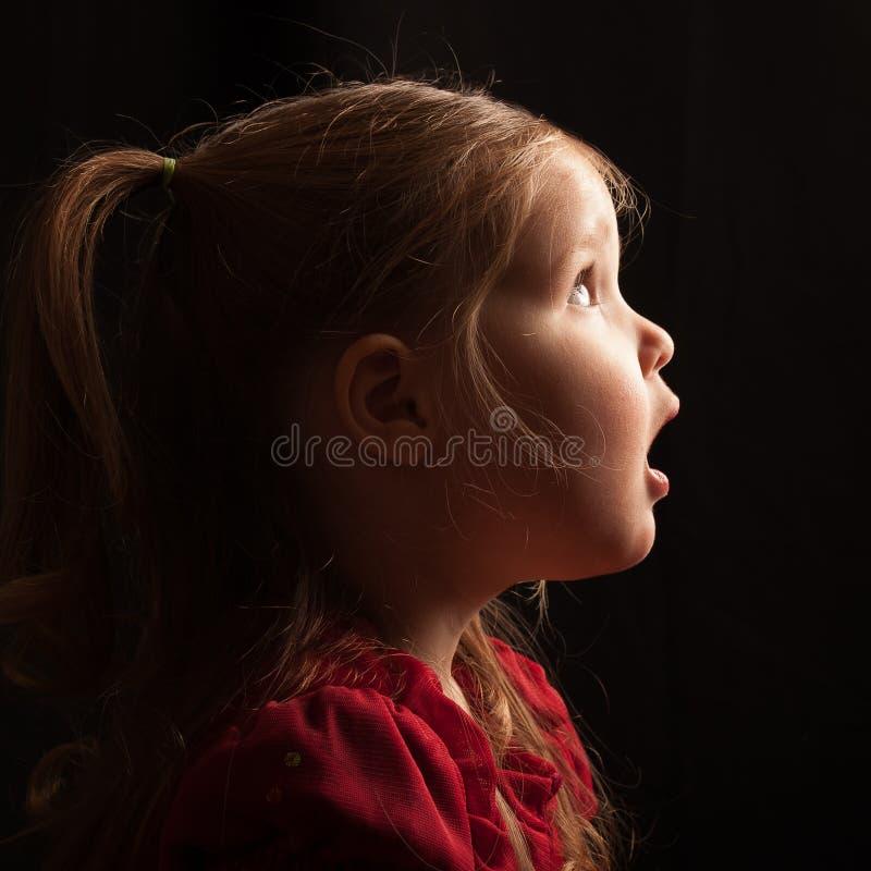 Profil niemowlak w respekcie obraz royalty free