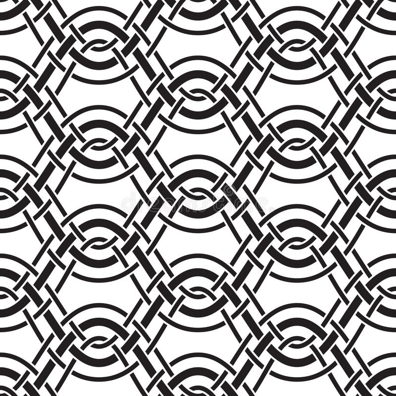 Profil onduleux illustration stock