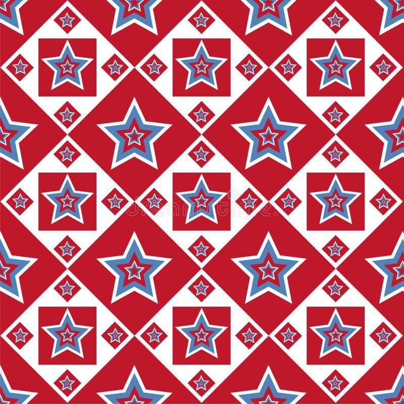 Profil sous convention astérisque coloré américain illustration stock