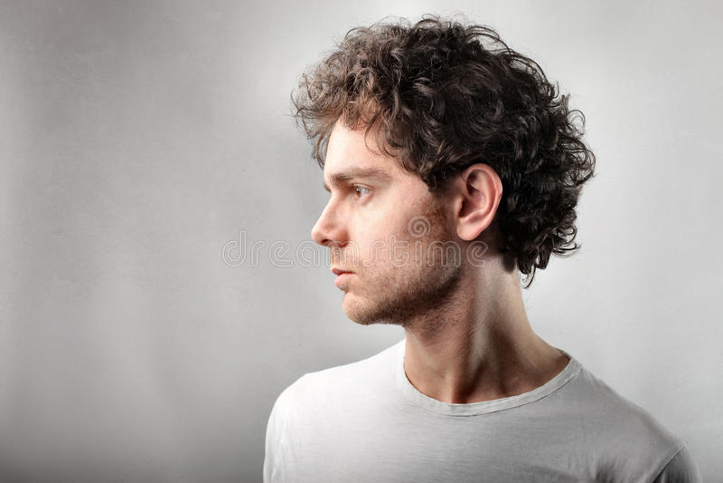 Profile stock image