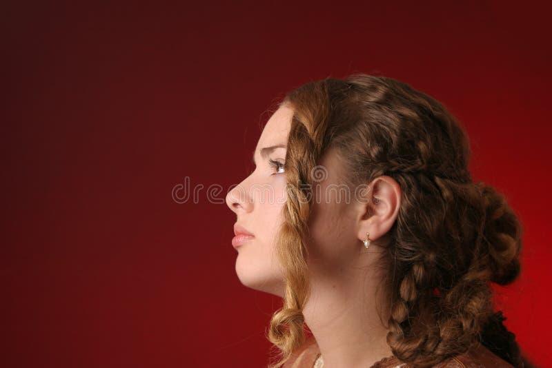 Profile royalty free stock photo