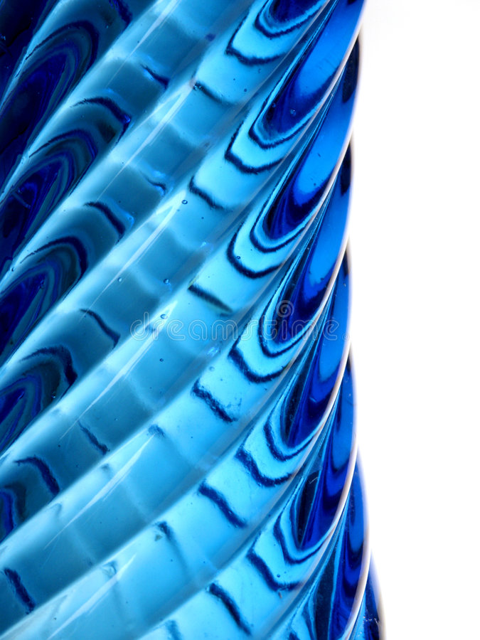 Download Profile Of A Blue Glass Vase Stock Image - Image: 8243