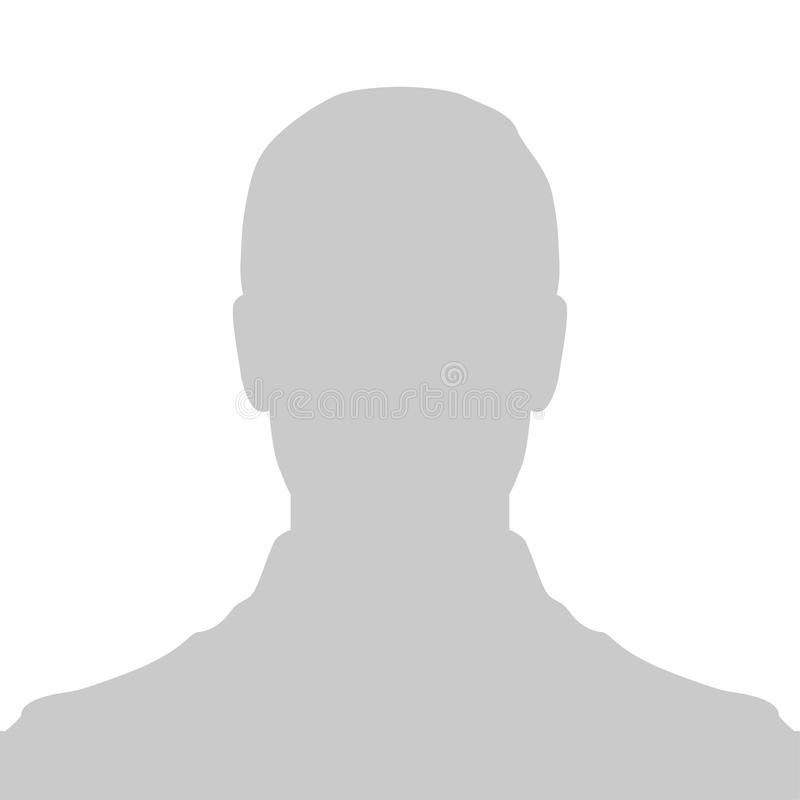 Free Profile Placeholder Image. Gray Silhouette No Photo Royalty Free Stock Photography - 123478397