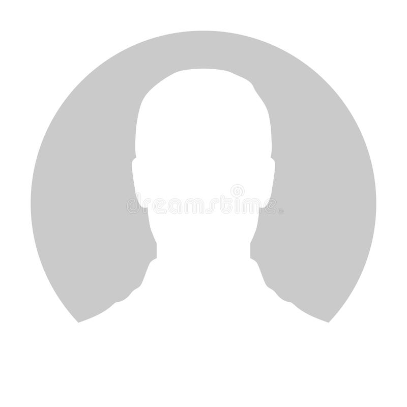 Free Profile Placeholder Image. Gray Silhouette No Photo Royalty Free Stock Photos - 123478438