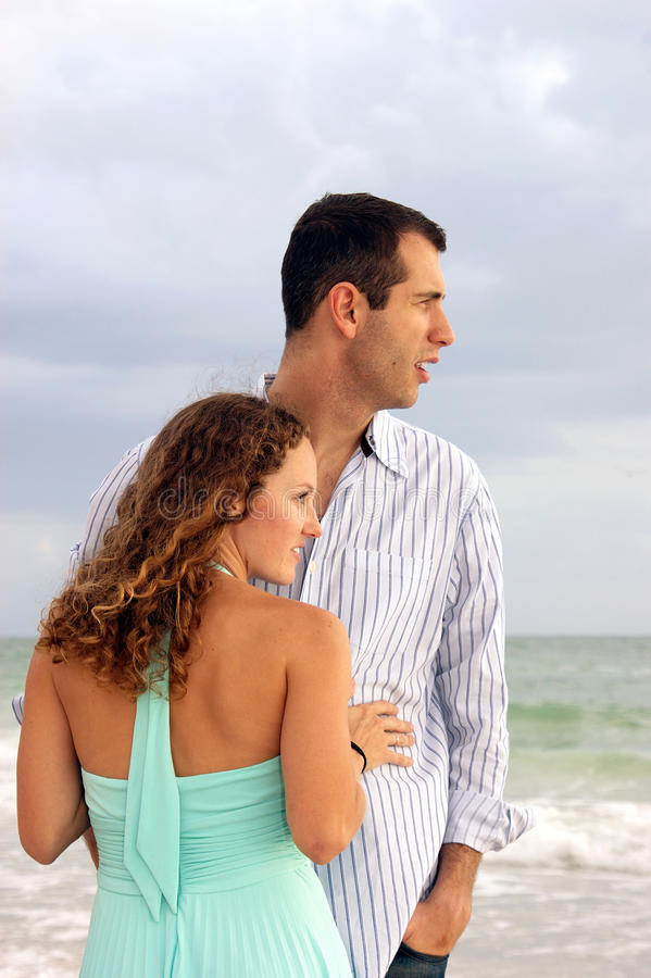 Download Profile Portrait Of Well Dressed Young Couple Look Stock Photo - Image: 9504312