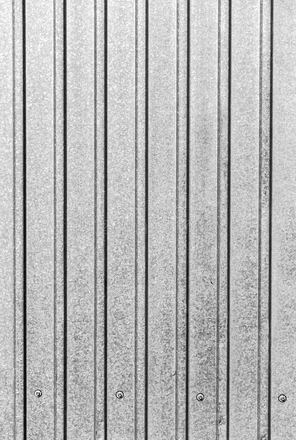 Profile sheet of galvanized stock photography