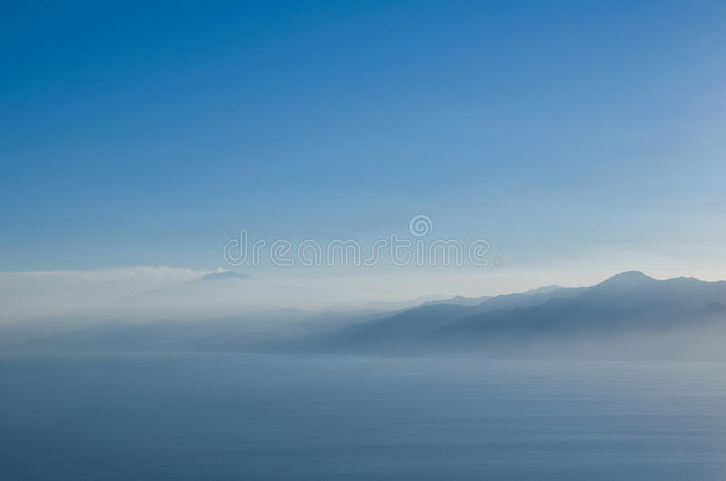 Download Profiles of mountains. stock image. Image of blue, perspective - 27897399