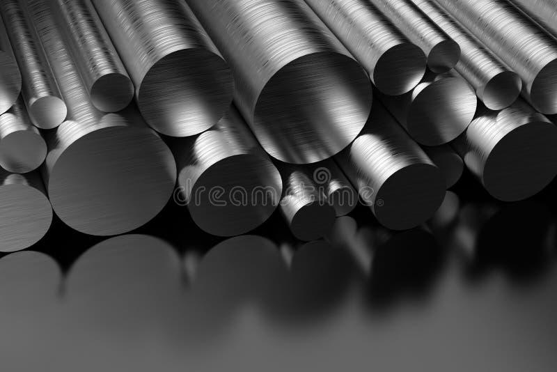 Profili d'acciaio illustrazione di stock