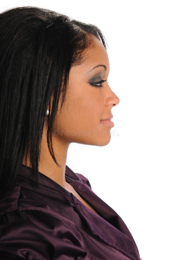 profilkvinna arkivbilder