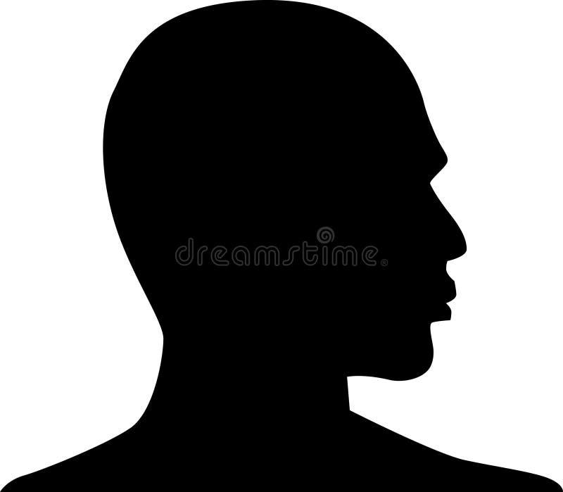 Profilo illustrazione vettoriale