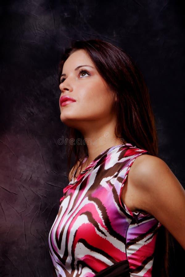 Profilo fotografia stock