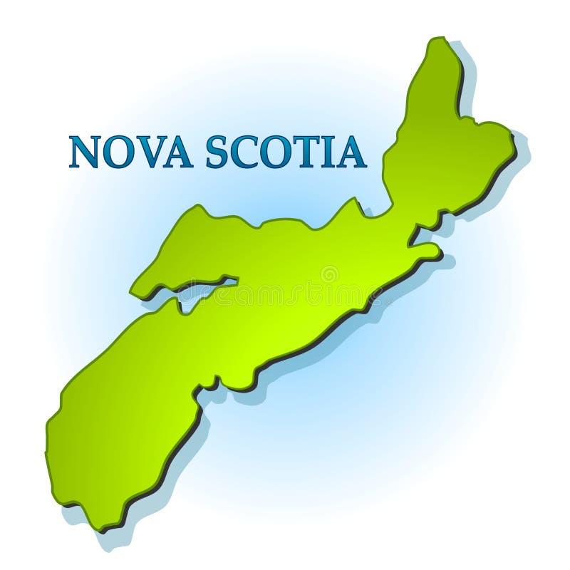 Download Profilo Del Programma Della Nuova Scozia Isolato Illustrazione di Stock - Illustrazione di profilo, corsa: 3877547