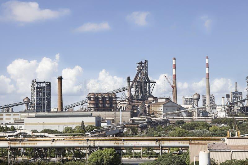 Profilo dell'impianti d'acciaio immagine stock