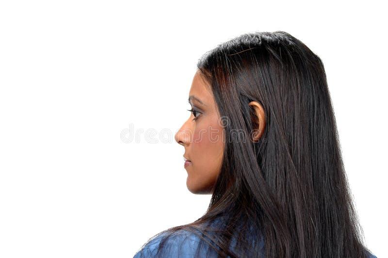 Profilo della donna immagine stock