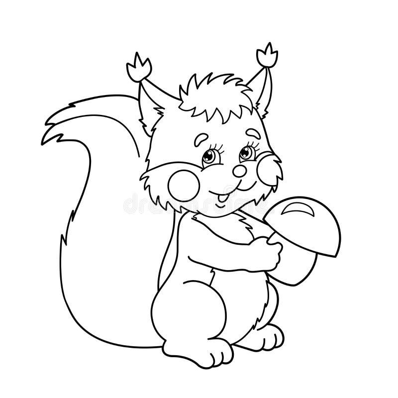 Profilo della pagina di coloritura dello scoiattolo del - Bambino samuel pagina da colorare ...