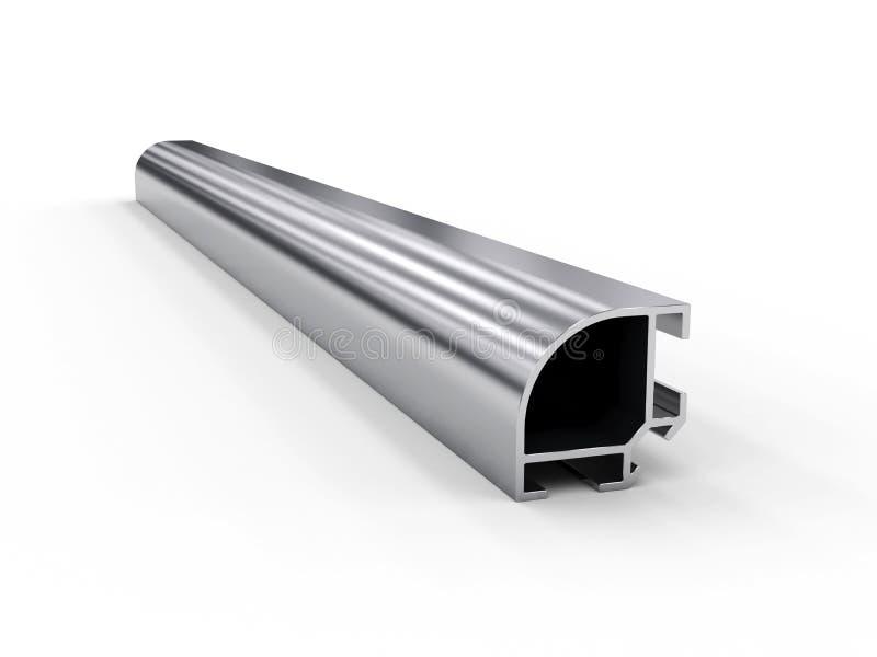 Profilo di alluminio illustrazione vettoriale