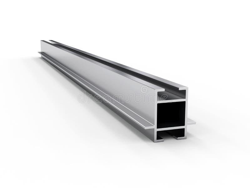 Profilo di alluminio fotografia stock libera da diritti