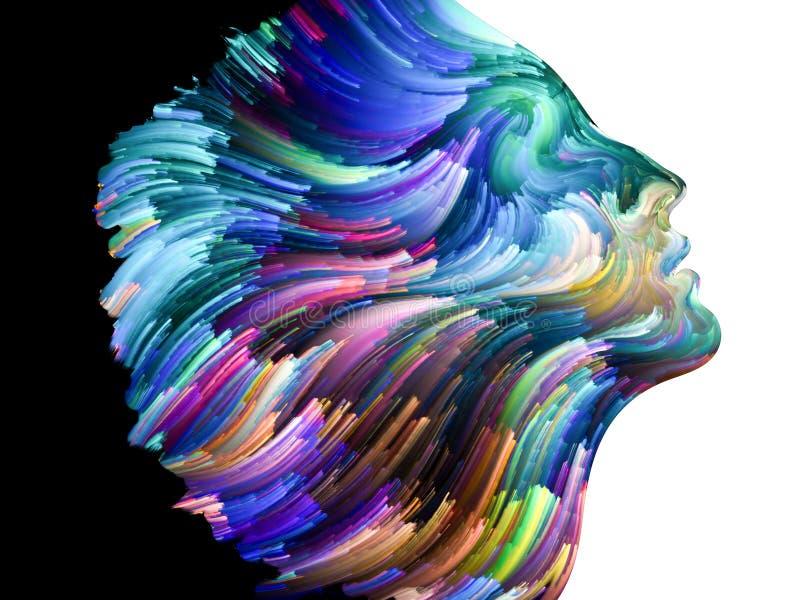 Profilo di colore illustrazione vettoriale