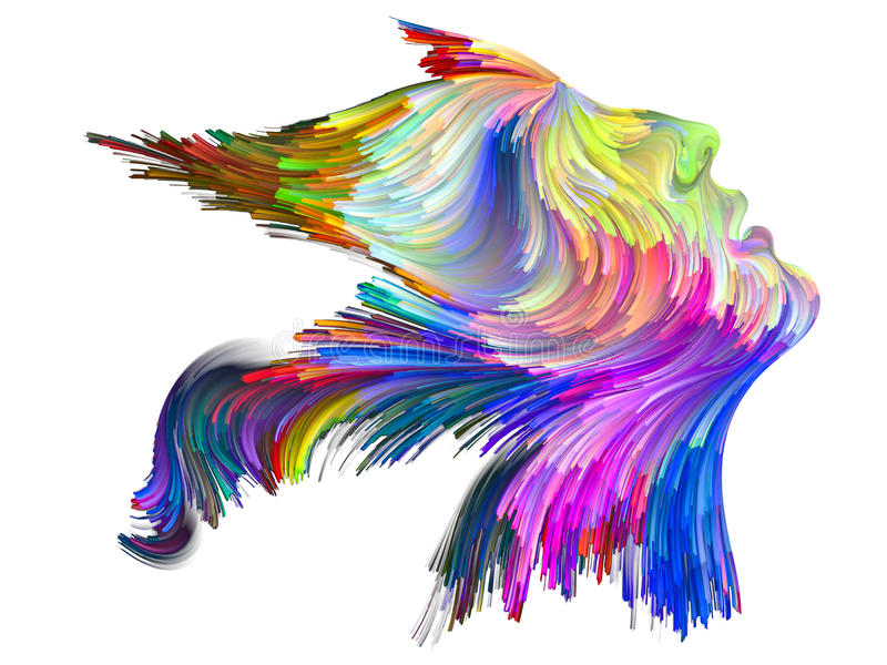 Profilo di colore royalty illustrazione gratis