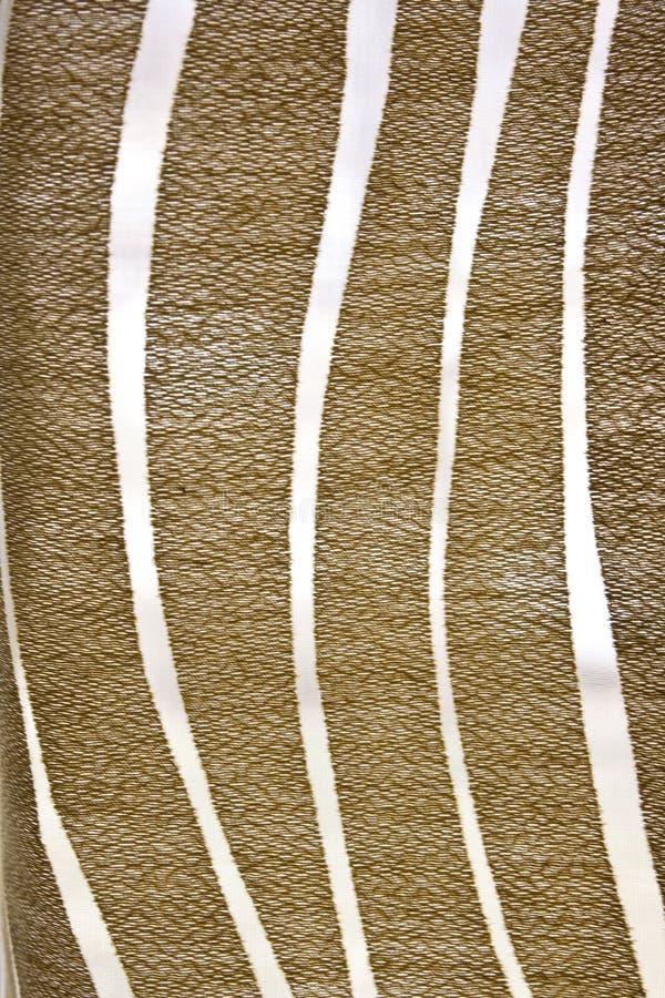 Profilo ondulato astratto del Brown fotografie stock