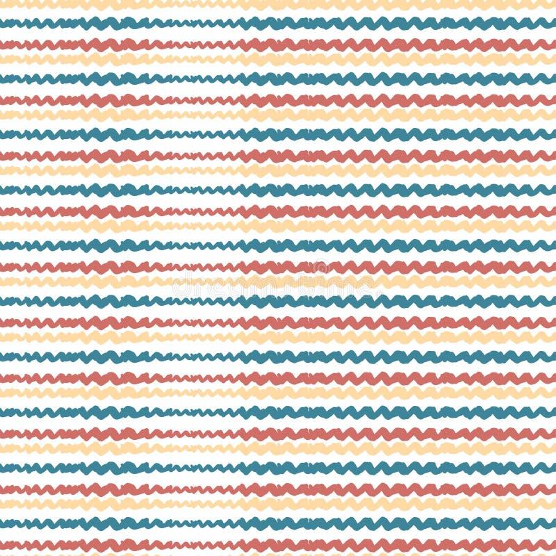 Download Profilo Ondulato Senza Cuciture Disegnato A Mano Priorità Bassa Astratta Di Vettore Moderno Illustrazione Vettoriale - Illustrazione di tessuto, riga: 56883828