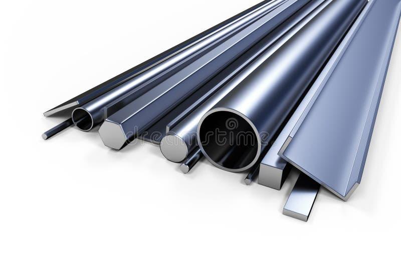 Profilowy metal ilustracja wektor