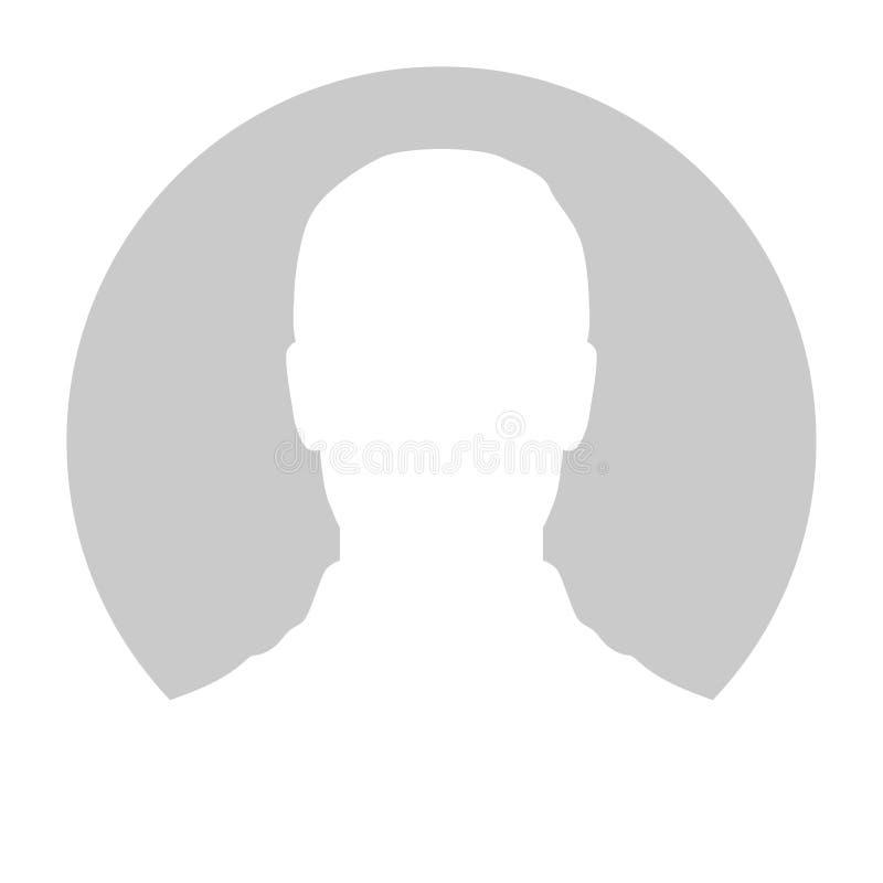 Profilowy Placeholder wizerunek Szara sylwetka żadny fotografia ilustracji