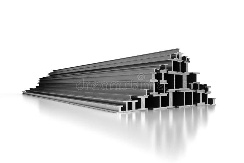 Profils en acier illustration de vecteur