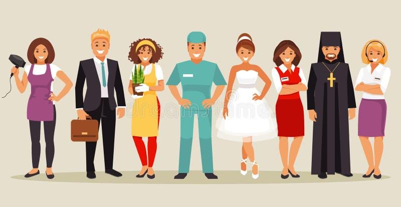 profissão ilustração royalty free