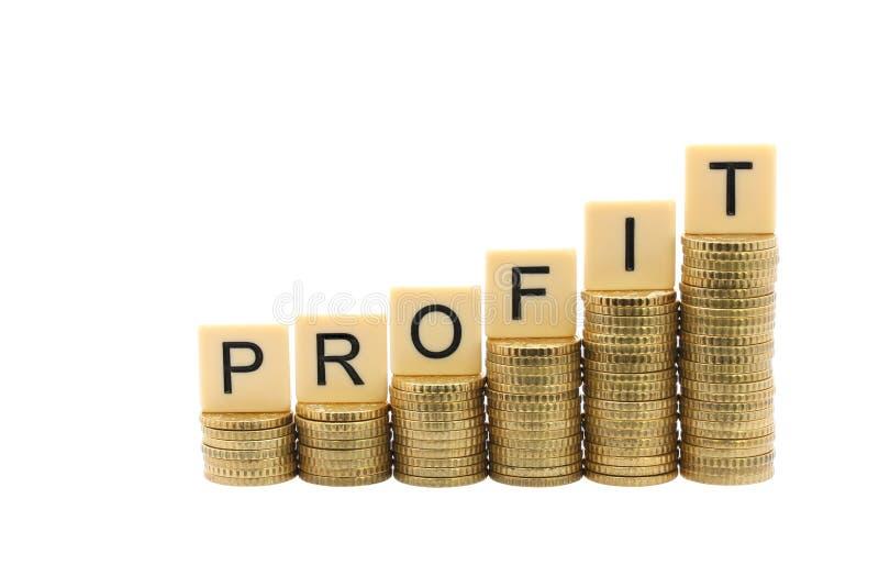 profit lizenzfreies stockfoto