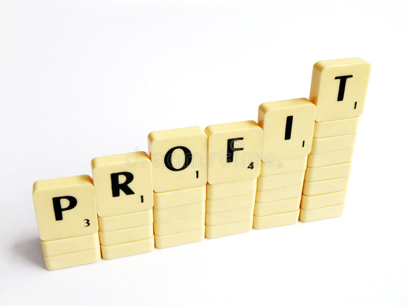 Profit Increasing Concept Stock Images