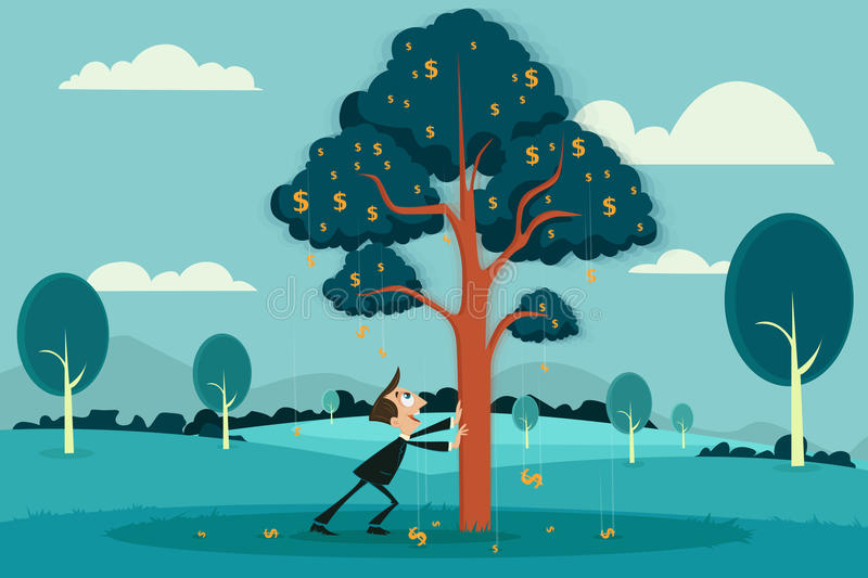 Profit Making stock illustration