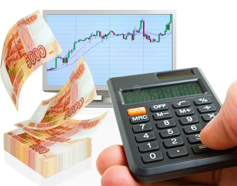 Profit. stock photo