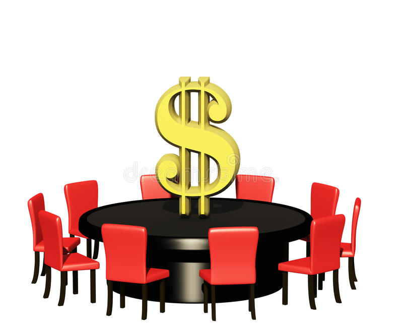 profit table stock photography