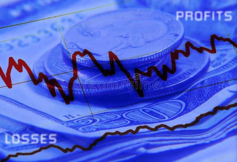 Profit und Verluste stock abbildung