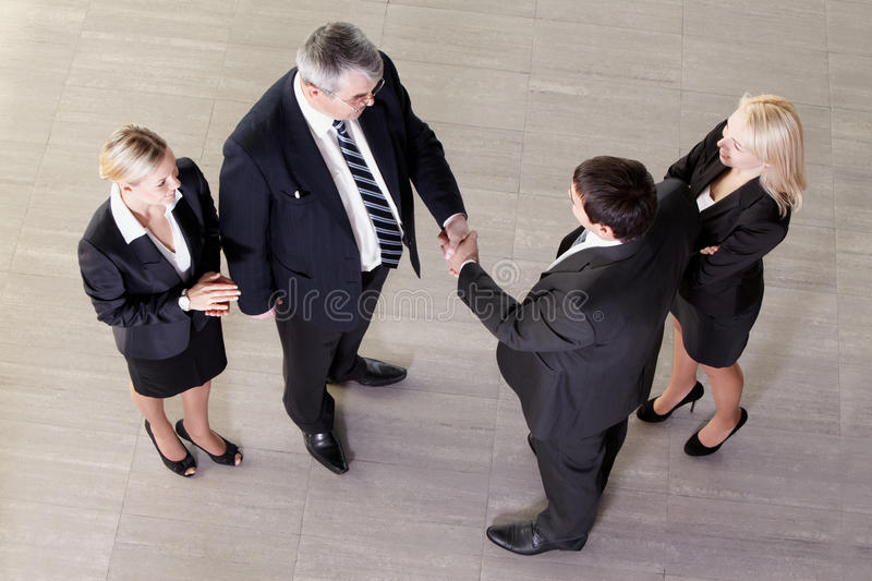 Download Profitable collaboration stock photo. Image of agreement - 21562162