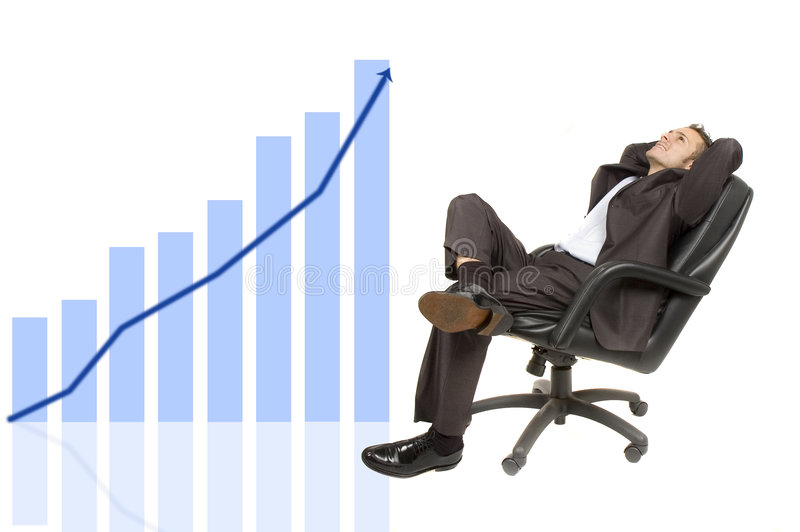 Profits increasing stock photo