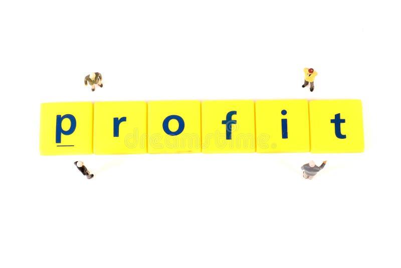 profitto fotografia stock