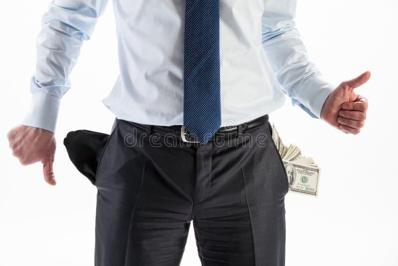 Profitto o fallimento? immagine stock