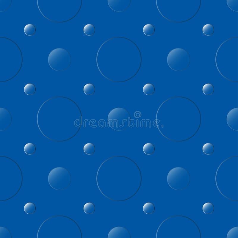 Profondità blu illustrazione vettoriale