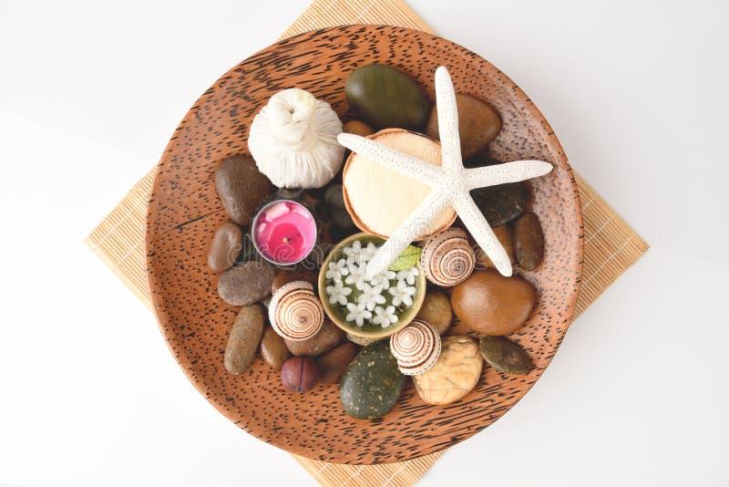 Profumi di aromaterapia della stazione termale fotografie stock