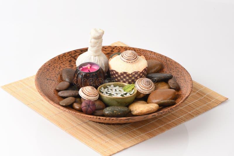 Profumi di aromaterapia della stazione termale immagine stock libera da diritti