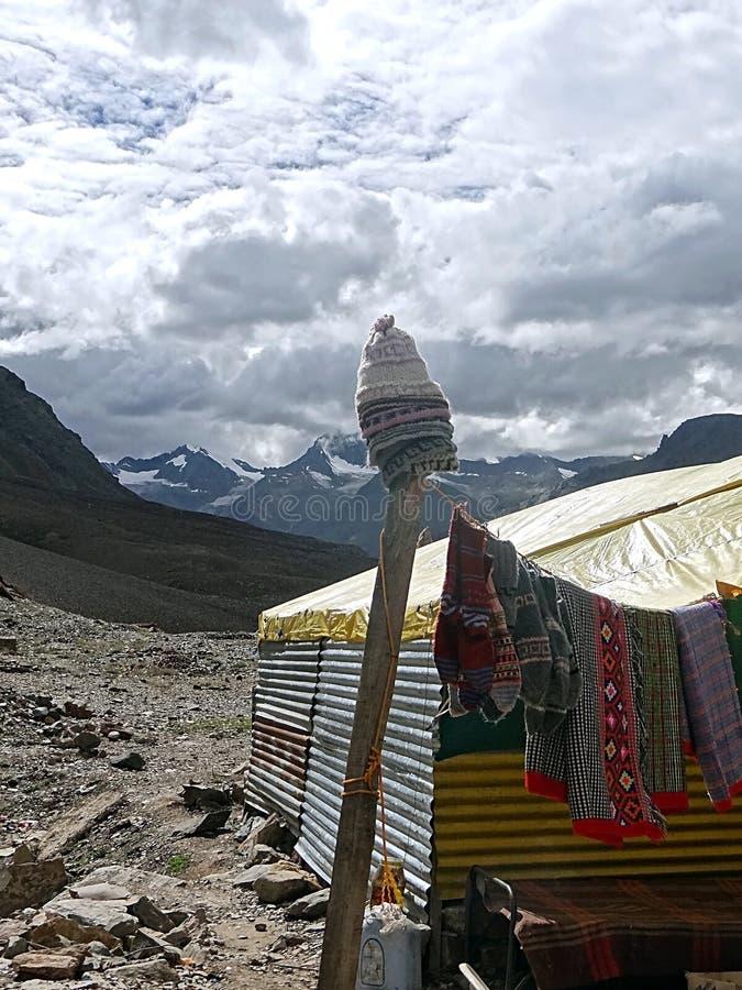 Profundamente en el Himalaya imágenes de archivo libres de regalías