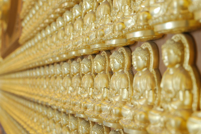 A profundidade da imagem de buddha fotografia de stock