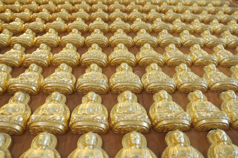 A profundidade da imagem de buddha foto de stock