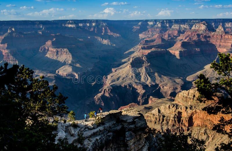 Profundidades de Grand Canyon de Mather Point imagem de stock
