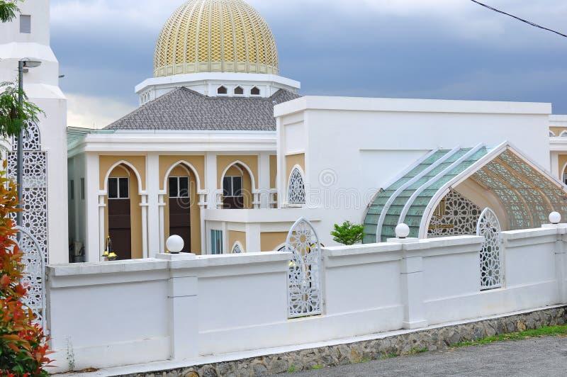 Progettazione architettonica di nuova Al-Umm moschea in Bandar Baru Bangi immagini stock libere da diritti