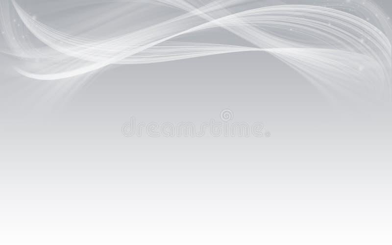 Progettazione astratta bianca elegante del fondo illustrazione vettoriale