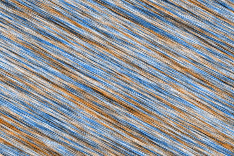 Progettazione astratta Colourful della fibra su un fondo nero illustrazione vettoriale